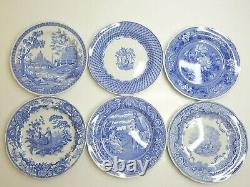 12 Spode Blue Room Collection VARIETY 10 3/8 Decorative Collectible Decor Plate