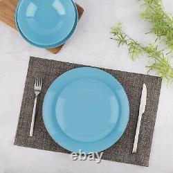 18 Pc Dinner Set Stoneware Crockery Plate Bowl Tableware Dining Service for 6 Sb