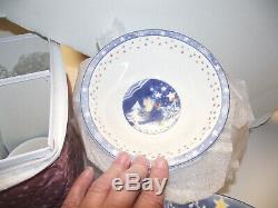 46pc 12ppl Dinner Plate & CEREAL & MUGs SET MR SNOWMAN EPOCH NORITAKE Christmas