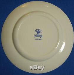 4 Mason's Ironstone Denmark Pattern Dinner Plates England