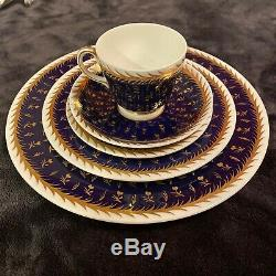 5 Place setting WEDGWOOD ST JAMES CHINA SET DINNER PLATE LUNCH TEA CUP SAUCER