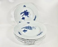 5x Royal Copenhagen Blue Flower 1621Large Dining Plates 25 cm