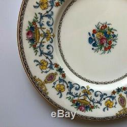 6 Antique Minton England Talbot pattern, 10 3/4 dinner plates EXC cd 1928-40
