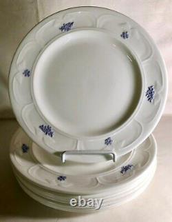 8 Adderly Blue Chelsea 10 1/4 Dinner Plates