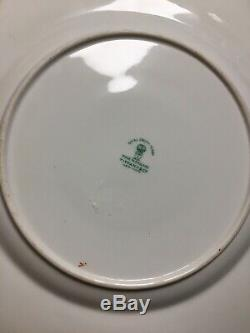 (9) Royal Crown Derby for TIFFANY & Co Imari Style 10.5 Inch DINNER PLATES