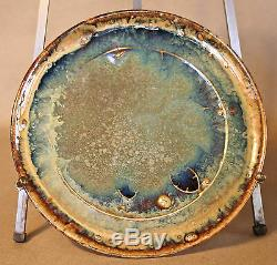 Alexandre Bigot (1862-1927) French Art Nouveau Dinner Plate 4
