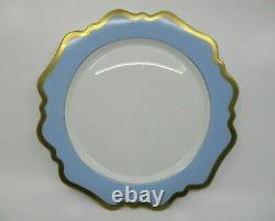 Anna Weatherley Annas Palette Sky Blue Dinner Plate 10 1/2 1206f