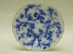 Antique Ridgways Flow Blue Gainsborough Plate 7