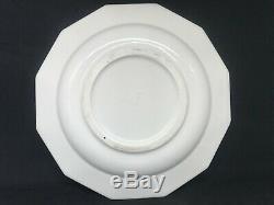 Antique Rookwood Pottery Blue Ship Dinnerware/Shipware 9 Dinner Plates-Set Of 3