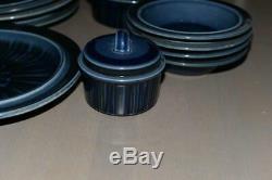 Arabia Finland Blue Kosmos Table Ware Design By Cunvor Olin-Gröngvist