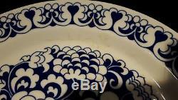 Arabia Gardenia Esteri Tomula Goran Back Plates 12 Pieces Finland 1973-74