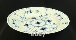 BLUE FLUTED PLAIN Royal Copenhagen 10 DINNER Plate Denmark 175 MINT Condition