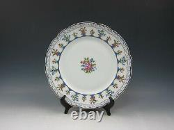 Bernardaud China CHATEAUBRIAND BLUE Dinner Plate(s) Multi Avail EXCELLENT