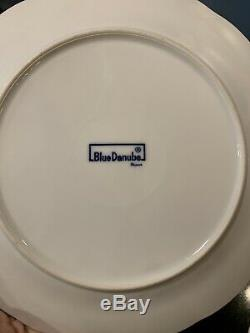 Blue Danube Boxed Backstamp Set of 7 Dinner Plates 10.5 No Chips