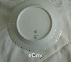 Blue Fluted Royal Copenhagen Full Lace Dinner Plates