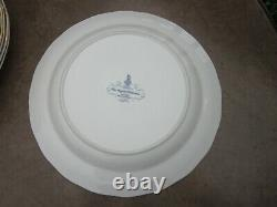 Booths Real Old Willow Royal Doulton The Majestic Collection 10.75 Plates 8 Pc