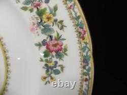 Coalport (England) Ming Rose Scalloped 10 7/8 set of 2 Dinner Plates