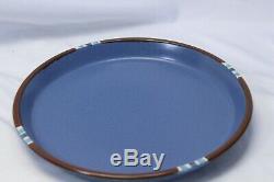 Dansk Mesa Dinner Plates Sky Blue 10.5 Lot of 5 Japan