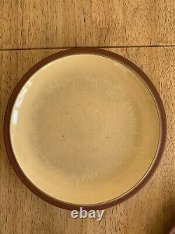 Denby Juice Set 6 Each Of Dinner, Salad & Side Plates & Teapot, Milk &Sugar