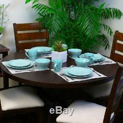 Dinnerware Set Kitchen Stoneware Dinner Dessert Plates Bowls Mugs Dishes 16Pcs