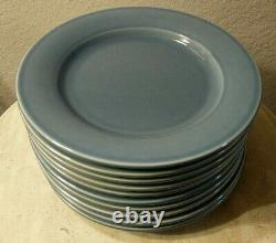 EUC Williams Sonoma Belvedere Cornflower Blue Dinner Plates Lot Of 10 Portugal
