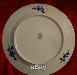 Herend Service/Dinner Plate SJ Yellow Dynasty 11 D. Used 2 x #2527