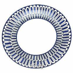 Hermes Bleus D'ailleurs Dessert Plate Pair (set Of 2) #p030007p Brand Nib F/sh