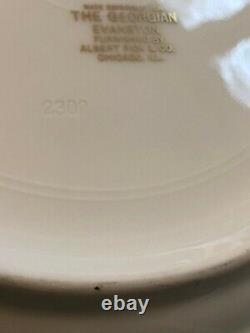 Huetschenreuther Babarian Cobalt China Plates 10 Dinner, Seven Plates