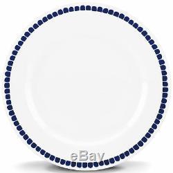 Kate spade new york Charlotte Street North Blue 11 Dinner Plate Set 4