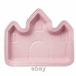 Le Creuset Plate Baby Lunch Plate (Castle) Milky Pink Heat and Cold Resistant MW