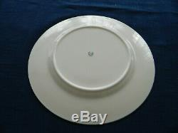 Lenox Fine China Lowell Colbalt Blue Gold Encrusted 10 1/2 Dinner Plate 9-2