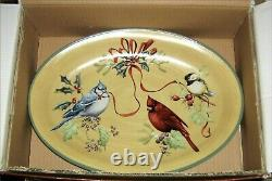 Lenox Winter Greetings Everyday, 2 Piece Serving Set, NEW In Box, Hard to Find, RARE