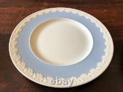 Lot of 10 Vintage Wedgwood Albion Corinthian Blue Dinner Plates