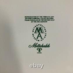 Mottahedeh Tobacco Leaf Dinner Porcelain Plate