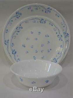 NEW 12-pc Corelle PROVINCIAL BLUE DINNERWARE SET Dinner Lunch PLATES 18-oz BOWLS