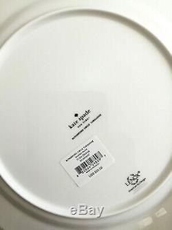 NEW Kate Spade Rutherford Circle 8 Pc Set Salad/Dinner Plates Turquoise