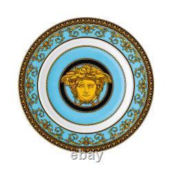 NEW Rosenthal Versace Medusa Colours Plate Celeste 18cm