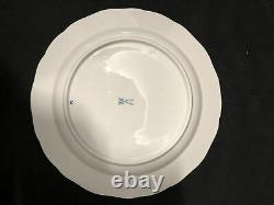 Pair of Meissen Germany Blue Onion (Sword Backstamp) Plates 101st Quality