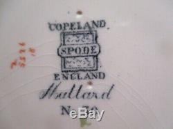 RARE Copeland Spode Cobalt Blue Mallard No 30 Dinner Plate Wild Bird Series 1964