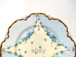 RARE & Unique Haviland Scofield Dinner Plates Set of 6