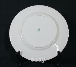 RARE VINTAGE CLASSIC LENOX BLUE FLORAL CENTER 27700404x176 DINNER PLATE 10 1/2