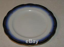 RR/BS Baltimore & Ohio Railroad China Dinner Plate in the Royal Blue Pattern