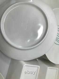 Rae Dunn Huge 18 Piece TEAL COASTAL Set Lot Plate Condiment Pitcher Melamine NEW
