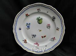 Richard Ginori Italian Fruit, Antico Doccia, Blue Dinner Plate (s), 10 1/4