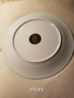 Rosenthal versace porcelain plate primavera pattern dinner size 11 inches