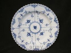 Royal Copenhagen BLUE FLUTED FULL LACE Deep Dinner Plate