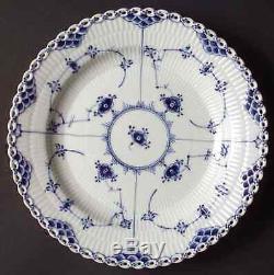 Royal Copenhagen BLUE FLUTED FULL LACE Dinner Plate S5970332G2