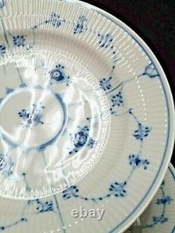 Royal Copenhagen BLUE FLUTED PLAIN Dinner Plate #175 1st Quality