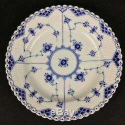 Royal Copenhagen Blue Fluted Full Lace 1084 10 Dinner Plate 1st Quality