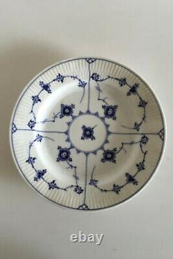 Royal Copenhagen Blue Fluted Plain Dinner Plate No 176